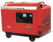 Typical larger wheeled generator